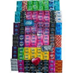 Výhodný maxi balíček - 111 kondómov Durex a Pasante
