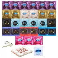30 najlepších kondómov z nášho sortimentu - Balíček toho najlepšieho na trhu!