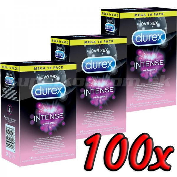 Durex Intense Orgasmic 100ks