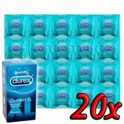 Durex Comfort XL 20ks