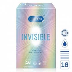 Durex Invisible Superthin 16ks