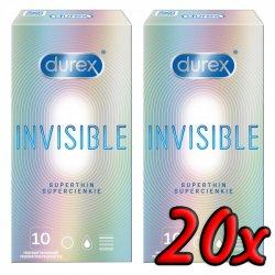 Durex Invisible Superthin 20ks
