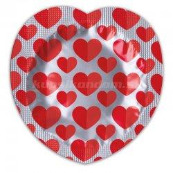 Pasante Heart 1ks