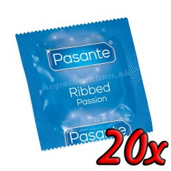 Pasante Ribbed Passion 20ks