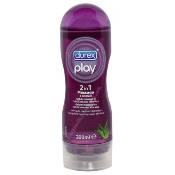 Durex Play Massage 2v1 s Aloe Vera 200ml
