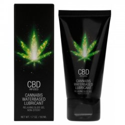 Pharmquests CBD Cannabis Waterbased Lubricant 50ml