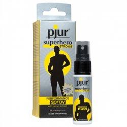 Pjur Superhero STRONG Performance Spray 20ml - Sprej pre dlhšiu výdrž