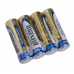MAXELL Alkalické batérie AA 4ks