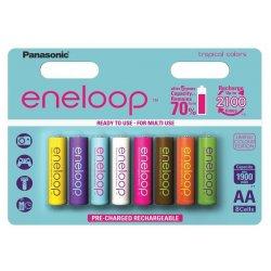 Panasonic Eneloop Tropical Nabíjateľné batérie AA 8ks