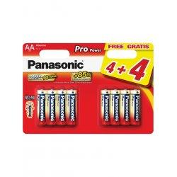 Panasonic Pro Power Alkalické Batérie AA 8ks