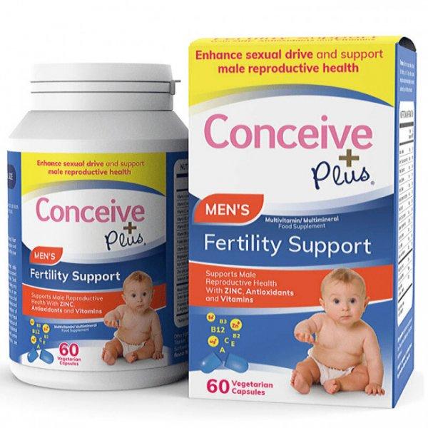 Conceive Plus Men's Fertility Support 60caps - 07/2021