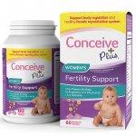 Conceive Plus Women's Fertility Support 60caps - 07/2021
