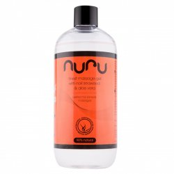 Nuru Massage Gel with Nori Seaweed & Aloe Vera 500ml
