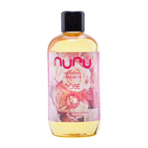 Nuru Massage Oil Rose 250ml
