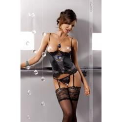 Casmir Alexia - Erotický korzet Čierny