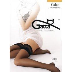 Gatta Jilly - Samodržiace pančuchy Čierna