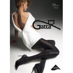 Gatta Loretta 100 - Pančuchové nohavice Nero