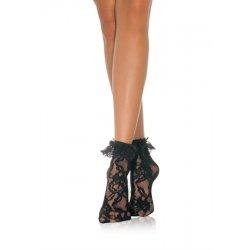 Leg Avenue Čipkované ponožky