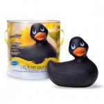 Big Teaze Toys I Rub My Duckie Classic Travel Size - Čierna vibračná kačička