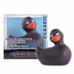 Big Teaze Toys I Rub My Duckie 2.0 Classic - Čierna vibračná kačička