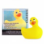 Big Teaze Toys I Rub My Duckie 2.0 Classic - Žltá vibračná kačička