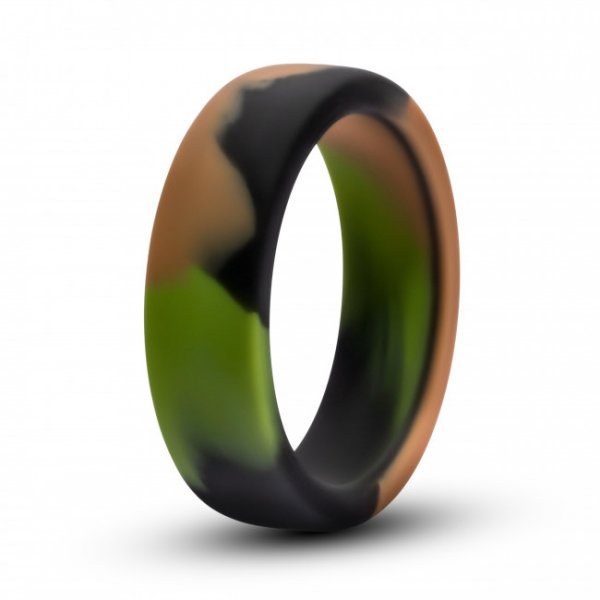 Blush Performance Silicone Camo Cock Ring