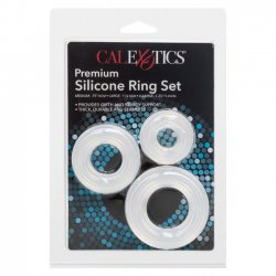 California Exotics Premium Silicone Ring Set