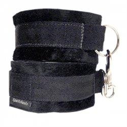 Sportsheets Cuff Love - Putá na suchý zips Čierne