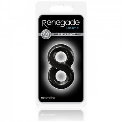 NS Novelties Renegade Lucky 8 Black