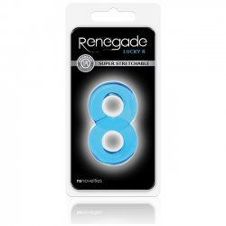 NS Novelties Renegade Lucky 8 Blue