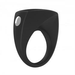 OVO B6 Vibrating Ring - vibračný krúžok Čierny