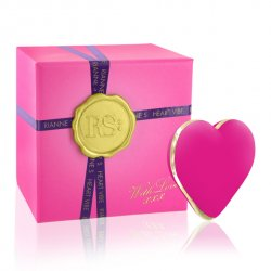 Rianne S Heart Vibe French Rose - Vibrátor v tvare srdiečka