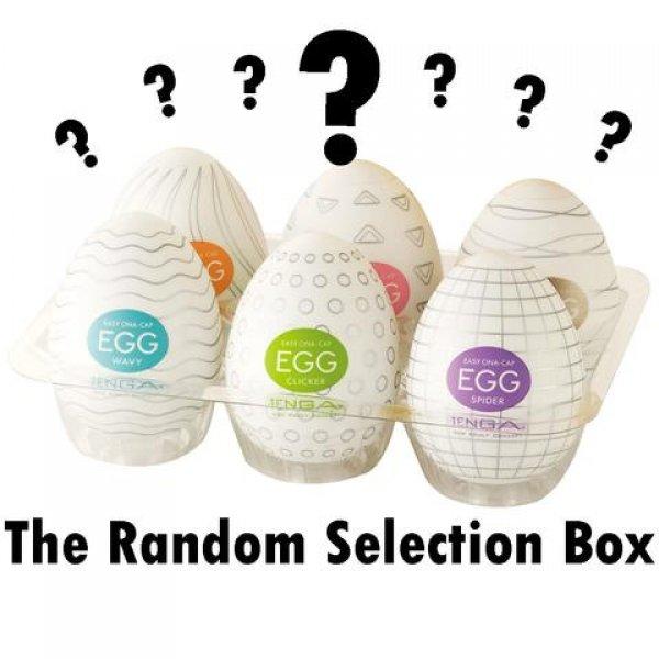 Tenga Egg Náhodný mix 6ks