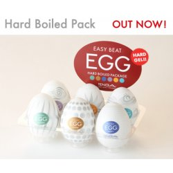 Tenga Egg Hard Boiled Mix 6ks